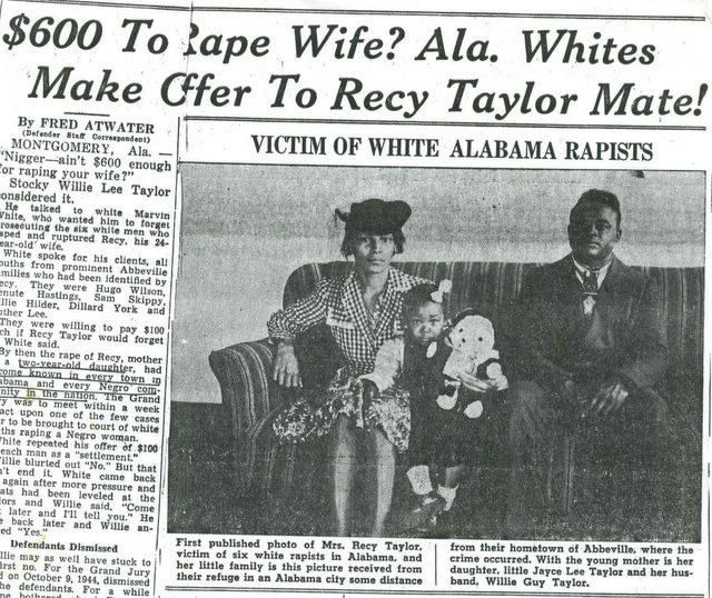 Recy-Taylor-willie-guy-taylor-joyce-lee